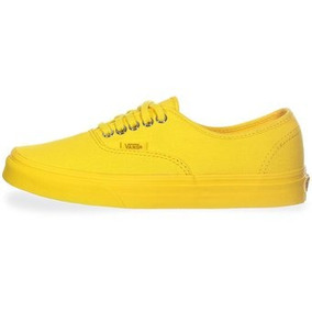 Tenis Vans Authentic Amarillo