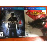 Juegos Ps4 Playstation 4 God Of War Dios Guerra, Uncharted