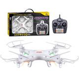 Drone Quadricoptero X5 Explorer 2.4ghz 6 Eixos - Branco