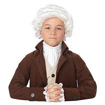 Disfraz Hombre Hombre Colonial Niño Peluca