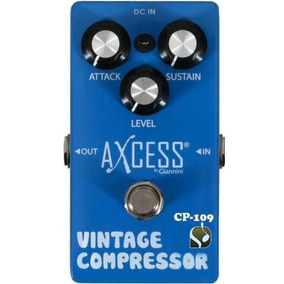 Pedal Giannini Axcess Vintage Compressor Cp-109 Brinde