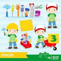 Kit Imprimible Manny A La Obra Imagenes Clipart