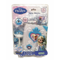 Diario Mágico Disney Frozen Original Ditoys *coolwood*
