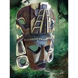 Mascaras De Madera Diseños Mayas Y Aztecas Hechas En Madera
