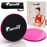 Ezy Active Fitness Slider Discos Sliders Fitness | Ejerci...