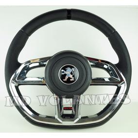 Volante Golf Gti Cromado Peugeot 106 / 206 / 306 + Cubo 130