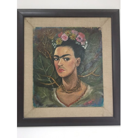 Cuadro Pintura Frida Kahlo