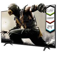 Tv Led 24 Pulgadas Full Hd 1080p Tda Hdmi Vga Ultra Bass