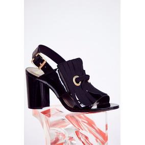 Zapatos Sandalia Charol Mishka Talle 38 No Prune Blaque Sofi