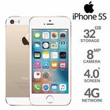 Iphone 5s 32gb 4g Libre Accesorios Originales Garantía 1 Ano