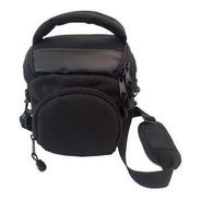 Bolsa Case Câmera Photopro Athena Canon Nikon Lente Grande