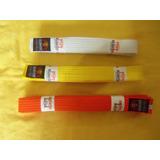 Cinturones Para Karate Maraca Bushido Varias Tallas Colores