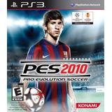 Juego Ps3 Pes Pro Evolution Soccer 2010 Fisico