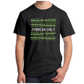 Camiseta Jungle Only League Of Legends Geek Tag
