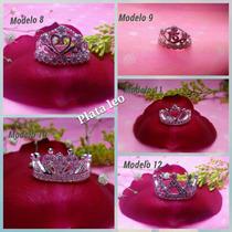 Anillo Corona Rey Y Reina En Plata Nuevos Modelos