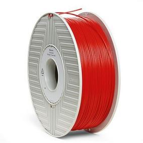 Filamento Pla 3d De 1,75 Mm 1 Kg Verbatim Rojo 55253