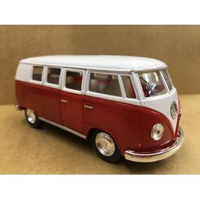 Miniatura Kombi 1962 Vermelha/branca