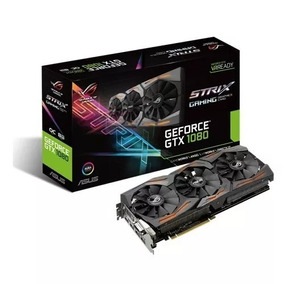 Placa Video Asus Rog Strix Gtx1080 8gb Gaming Rgb Box
