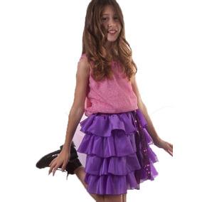 Disfraz Atuendo De Violetta 2 Modelos Nena 3 - 10 Años