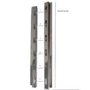 Suporte Para Churrasqueira Alvenaria De 6 Posições Altura 47cm + 3 Barras 1 Metro