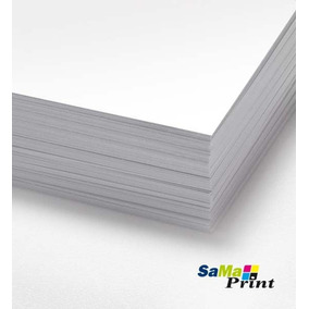 50 Cartolina 120 Gr. Santa Maria 50x66 Branca Atacado