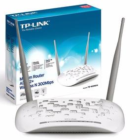Modem Router Tp-link Wifi 300mbps Tdw8961n Para Cantv