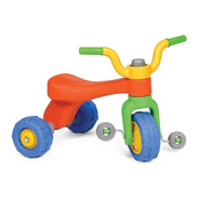 Triciclo Infantil Reforzado Qrio Vegui 1a3 Años Plaza Blanda