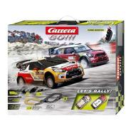 Pista Slot Carrera Go!!! Let´s Rally 3.6 Metros  Escala 1/43