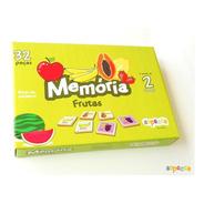 Jogo Da Memória Frutas 32 Peças - Sopecca M303