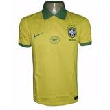 Camisa Polo Seleção Brasileira Nike Nk001