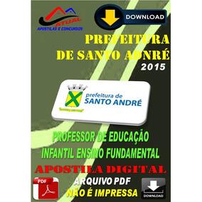 Apostila Pref Sto Andre Professor Educacao Infantil 2015