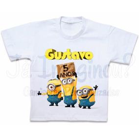 Camisa Minions Stuart Kevin Bob Blusa Camiseta Personalizada