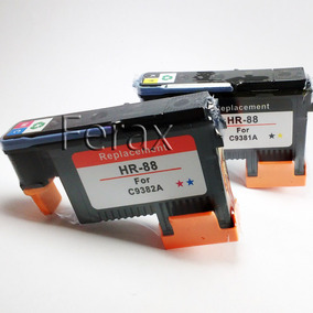 Kit Cabeça Impressão Hp 88 C9382a C9381a | K5400 K8600 K550