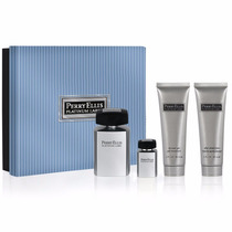 Set Perfume Perry Ellis Platinum 4pz Otros Lacoste Hugo Boss