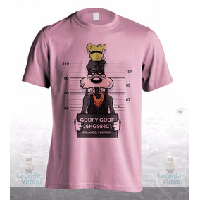 Camisa, Camiseta Pateta Fichado Disney