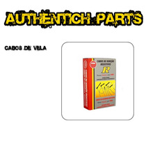 Jogo De Cabos De Vela Ngk Ford Versailles 1.8 Ap Até 91