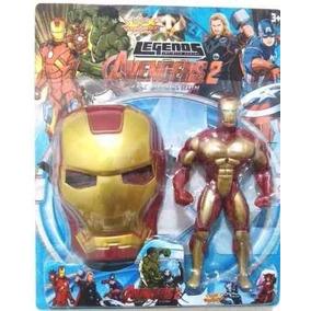 Kit Gerra Civil Homem De Ferro X Capitão America 2 Bonecos