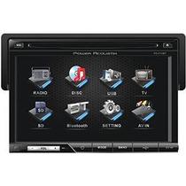 Power Acoustik Pd-710b Single-din Multimedia Fuente Con Desm
