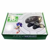 Consola Sega Apevtech Completa + 109 Juegos Sin Repetir!!!