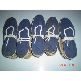 Alpargatas Rueda Nueva Azul Antiguas,10 Pares, Talle35,36