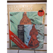 Historia De La Musica Codex 31 Fasiculo Y Disco Lp Acetato