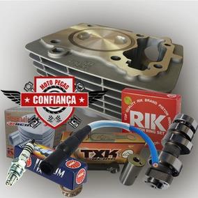 Kit Preparado Titan150 C/pistão 68mm Crf 230cc+comando 330°