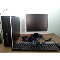 Computadora Hp Intel G620 2.60 Ghz 4gb 250gb + Monitor 17