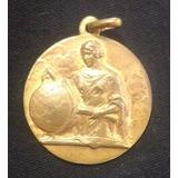 Medalla Antigua Premio Al Merito 1950