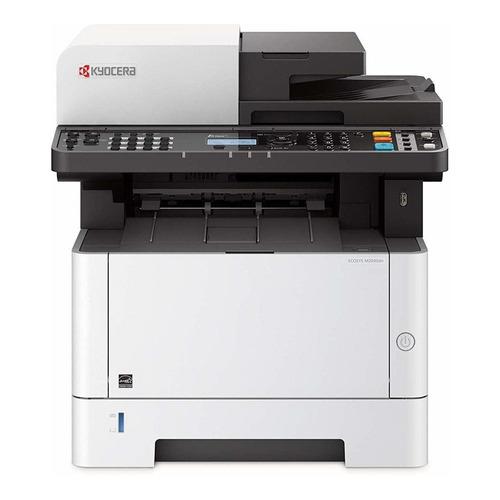 Impresora multifunción Kyocera Ecosys M2040DN 220V blanca y negra