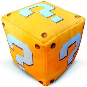 Peso De Porta Lucky Block Mário Minecrafit Arte Presente