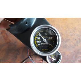 Medidor Auto Meter Ultra Lite Tacometro 1/4 Milla Arrancones