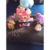 Mi Pequeño Pony, Caballos Y Tienda De Helados,originales