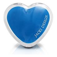 Espelho De Bolsa Coração Com Aumento - Jacki Design Arf17277
