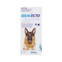 Bravecto Large Para Perros De 20 A 40 Kg.